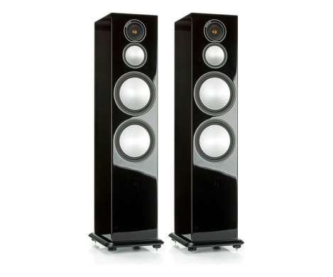 MONITOR AUDIO Silver 10 (Black Gloss)