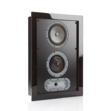 MONITOR AUDIO Soundframe 1 In Wall (Black)