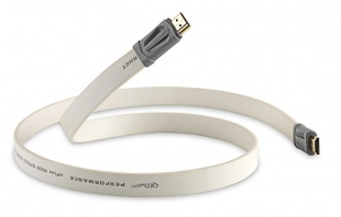 QED Performance E-flex HDMI White 1.5m