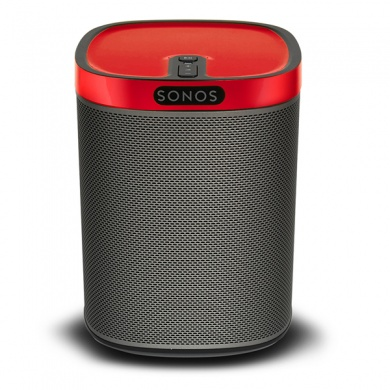 FLEXSON SONOS PLAY:1 Colour Play Skin (Racing Red Gloss)