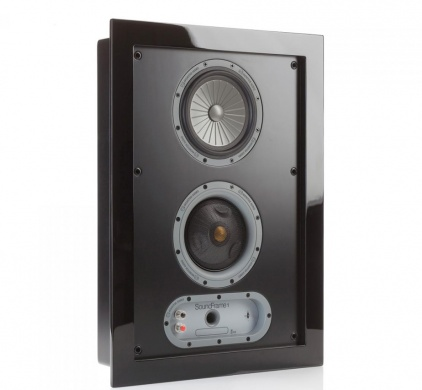 MONITOR AUDIO Soundframe 1 On Wall (Black)